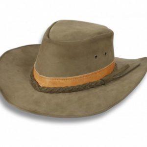Sombrero de piel . Talla L