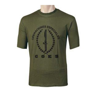 Camiseta comando operaciones especiales COE Genérica