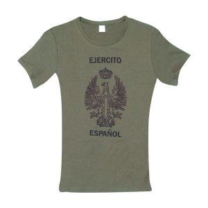 Camiseta Mujer Militar Ejercito de Tierra