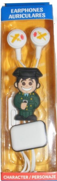 Auriculares GUARDIA CIVIL