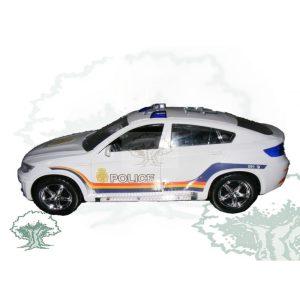 Coche Policia BMW X4 Luz y Sonido