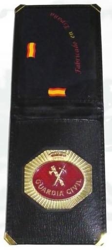 Cartera Guardia Civil Placa Oficial TIP Nuevo