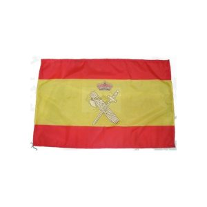 Bandera España con embema Guardia Civil