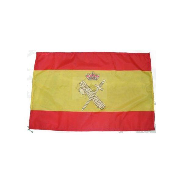 Bandera España con embema Guardia Civil