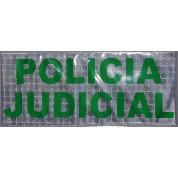 Paneles Policía Judicial Chalecos Antibalas