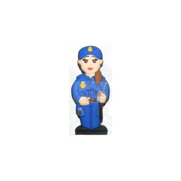 PENDRIVE USB POLICIA NACIONAL MUJER 16 GB