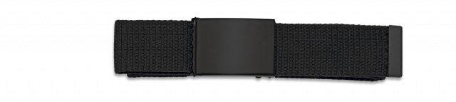 Cinturon Negro Hebilla negra