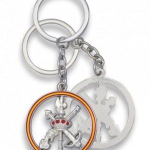 llavero legion plata