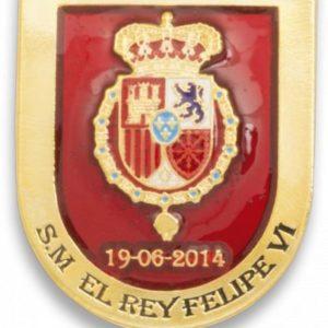 Distintivo Proclamacion S.M. Felipe VI