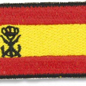 Bandera España bordada con logo I.MARINA